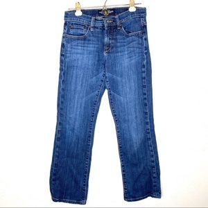 Lucky Brand straight leg ankle crop jeans size 2